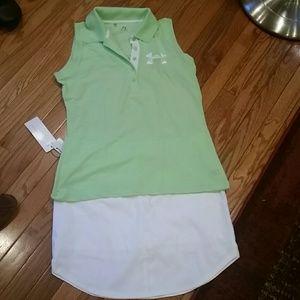 Adidas athletic wear skirt size 12 nwt